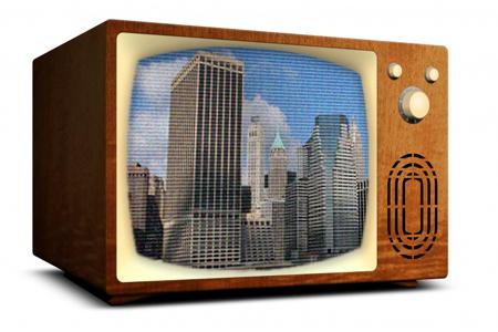 photoshop 画像にテレビの走査線を与える