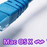 Windows と Mac OS X でファイル共有する方法(外付け HDD 無し)