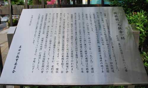 国技館(大鉄傘)跡