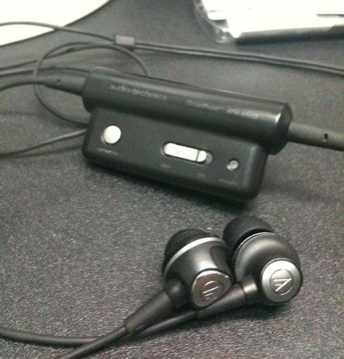 audio-technica ATH-ANC3 BK