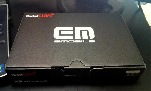 イーモバイル GL01P 箱