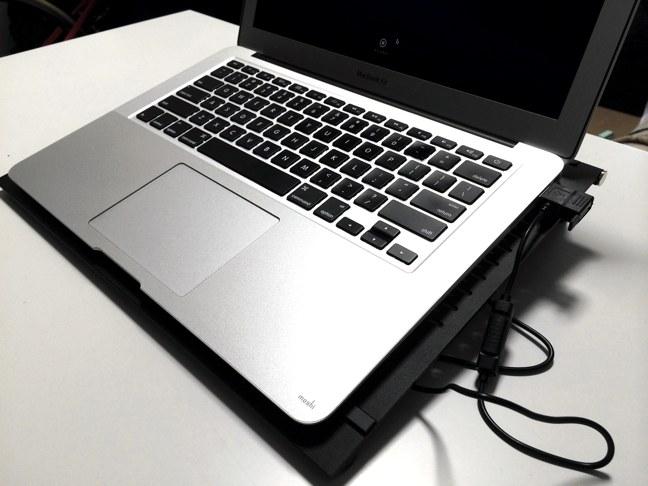 DEEPCOOL E-MOVE PCクーラー MacBook Air