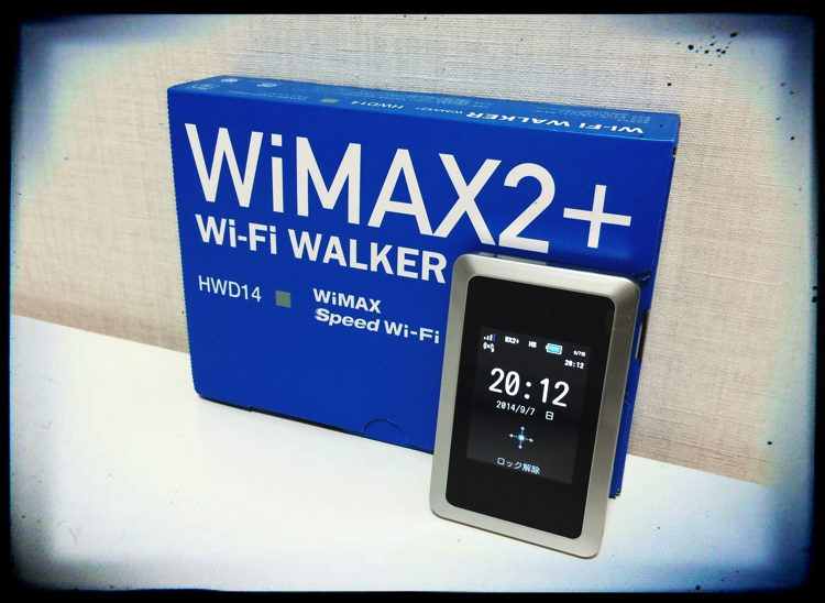 wimax2+ hwd14