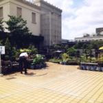 東京都 中央区の盆栽園といえば日本橋三越屋上の清香園(せいこうえん)