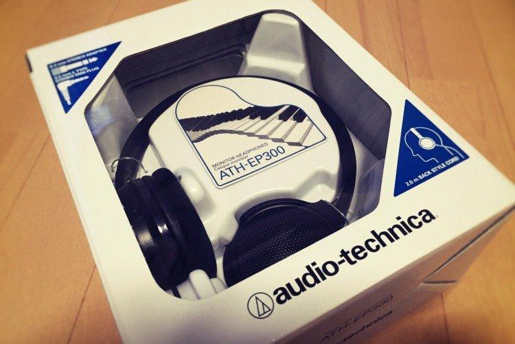 ヘッドフォン オーディオテクニカ ATH EP300