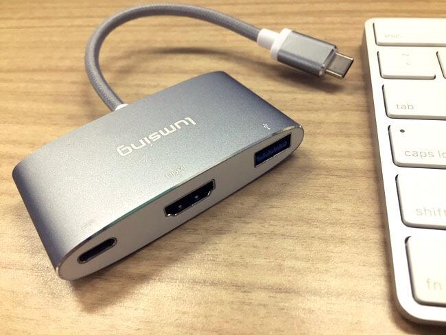 MacBook Pro USB-C マルチアダプタ HDMI Lumsing