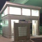 隅田川沿い 両国橋たもとの公衆トイレ「両国橋際公衆トイレ」