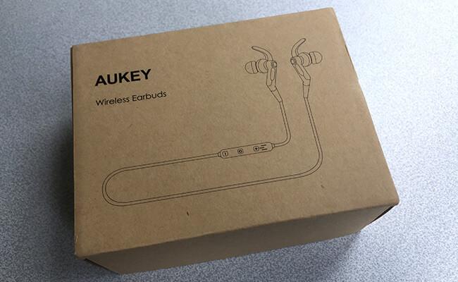 AUKEY EP-E7 イヤホン 化粧箱
