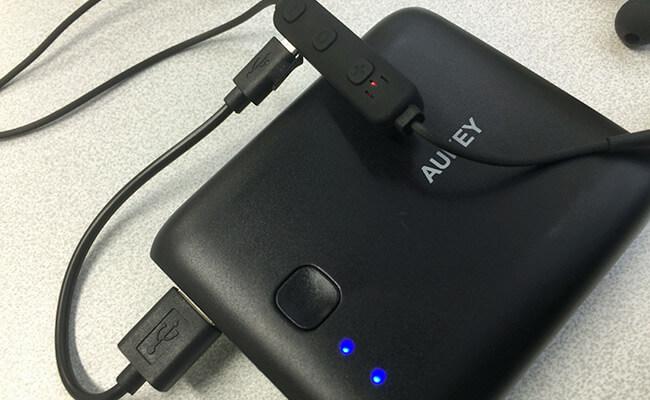 AUKEY イヤホン EP-E7 USB充電