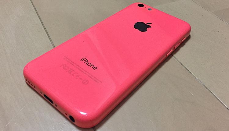 中古のiPhone5c
