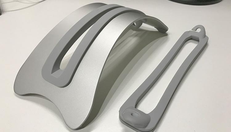 LAMPO アルミ ノートPC スタンド Apple MacBook Pro シリコンゴム