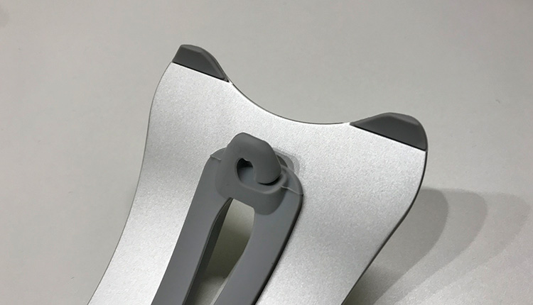 LAMPO アルミ ノートPC スタンド Apple MacBook Pro 裏面