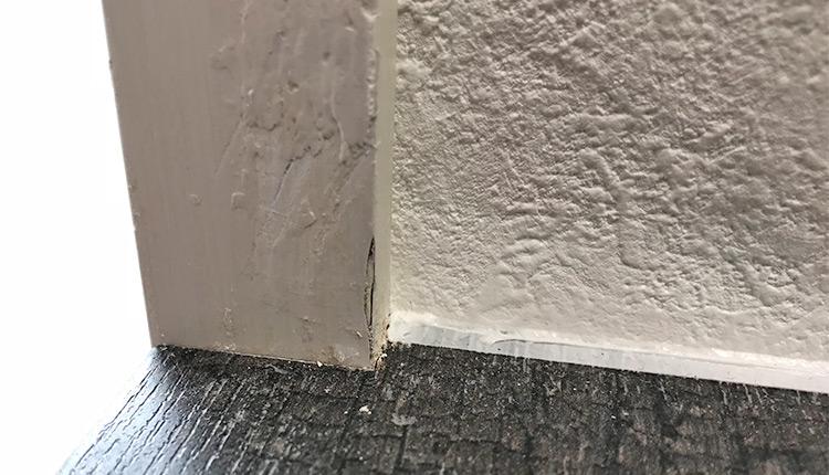 セキスイハイム 木枠の傷 修理