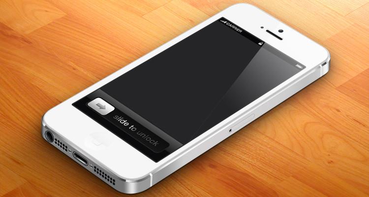 iPhone5 MockUp